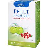 芳第《High Tea》水果草本茶-蔓越莓蘋果 2g*20入/盒