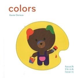 【英國幼兒感官觸摸書】TOUCH‧THINK‧LEARN: COLORS《主題:顏色》