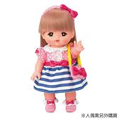 小美樂娃娃配件 藍紋小洋裝_ PL51360
