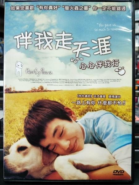 挖寶二手片-C09-006-正版DVD-韓片【伴我走天涯】-俞承豪 金洋琪(直購價)