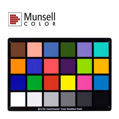 Munsell 孟賽爾 標準24色卡【ColorChecker Classic chart】
