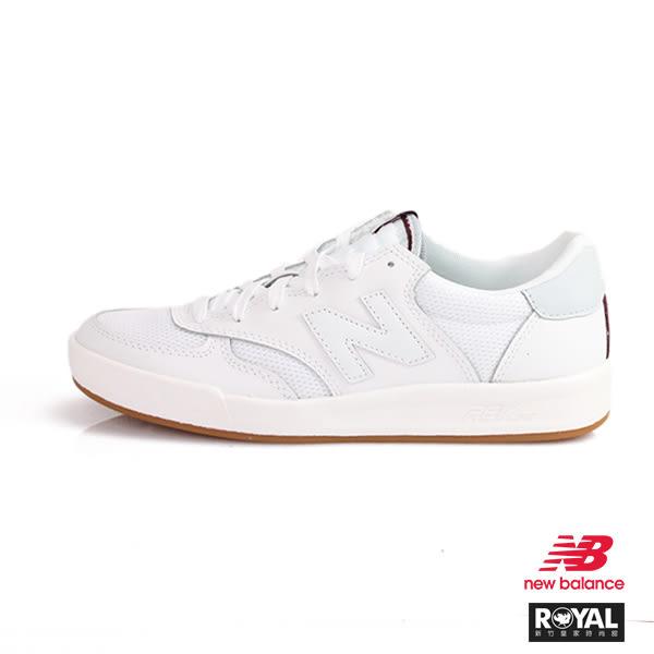 New Balance 新竹皇家 300 白色 麂皮 網布 復古 休閒鞋 男女款NO.A9942