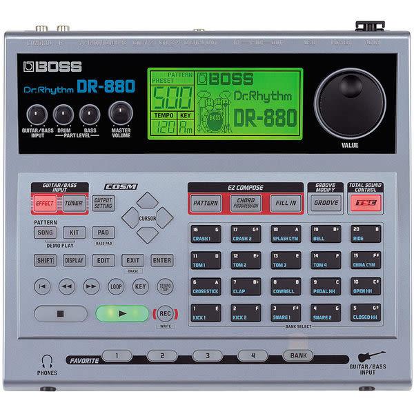 【金聲樂器廣場】全新 Boss DR-880 / DR880 電子鼓/ 伴奏機/ 節奏機 (樂師.街頭藝人) DR-3進階!!
