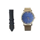 【Paul Hewitt】德國船錨簡約時尚米蘭腕錶+套組錶帶/PH-SSA-R-SM-B4S-11S/台灣總代理公司貨享兩年保固