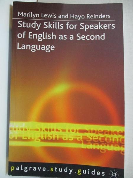 【書寶二手書T1/大學教育_HO6】Study Skills for Speakers of English As a Second…