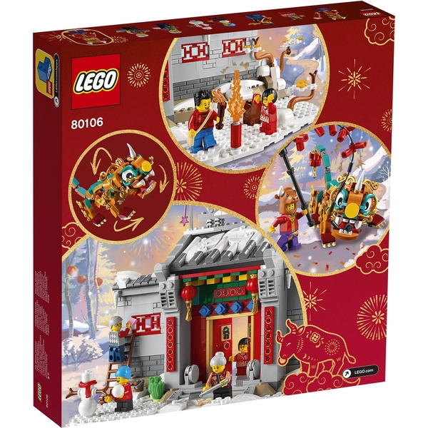 樂高積木 LEGO《 LT80106 》Chinese Festivals 亞洲限定版 - 年獸的故事 / JOYBUS玩具百貨