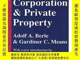 二手書博民逛書店The罕見Modern Corporation And Private PropertyY364682 Ado