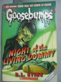 【書寶二手書T8/原文小說_IGJ】Night Of The Living Dummy_R.L. Stine