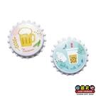 【收藏天地】瓶蓋冰箱貼-寶島啤酒&珍珠奶茶2款 ∕ 磁鐵 文創 家飾 居家