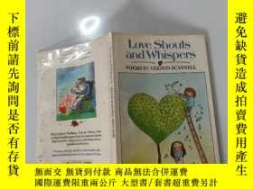 二手書博民逛書店Love罕見Shouts and Whisper:愛的呼喊和低語Y200392
