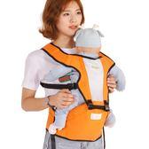 嬰兒背帶多功能夏四季通用透氣單雙肩新生幼兒童背帶寶寶前抱腰凳 晴川生活馆