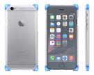【marsfun火星樂】(完售)ONPRO iPhone6/6S 四腳蛇防摔殼 白藍粉自由混搭 Apple 4.7吋 四角防摔殼 crystal