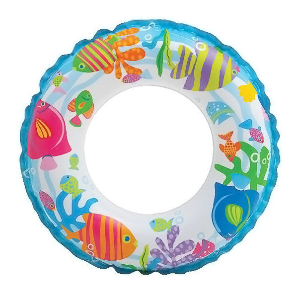 [衣林時尚] INTEX 20吋(51cm) 海底世界游泳圈 建議3-6歲