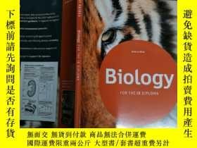 二手書博民逛書店Biology:罕見For the IB Diploma 生物學