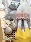 毛拖鞋 貓爪棉拖鞋女冬季家居可愛毛絨室內情侶卡通家用保暖月子鞋秋冬男 唯伊時尚
