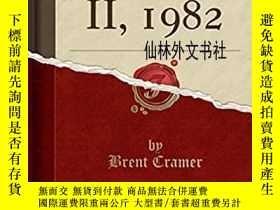 二手書博民逛書店【罕見】 Obelisk II, 1982 (Classic Reprint) 重印版Y27248 Brent