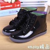 雙12狂歡購 兒童雨鞋男童女童防水雨靴中大童春秋學生系帶水鞋小孩膠鞋套鞋