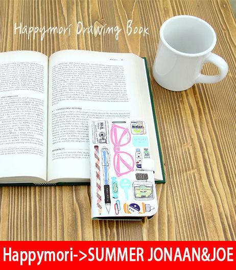 【韓國原裝 Happymori】※Drawing book※ 側開手機皮套適用Galaxy Note2 N7100