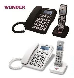 旺德WONDER 2.4G高頻數位無線電話 WD-9102D(黑、白兩色)