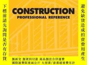 二手書博民逛書店Dewalt罕見Construction Professional Reference (dewalt Serie