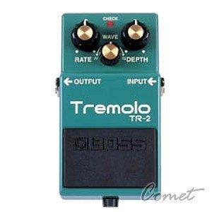 BOSS TR-2 顫音效果器 【Tremolo/TR2/電吉他單顆效果器】