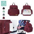 4色 可後背 可放置於行李拉桿上 容量大 附保溫袋 防潑水面料