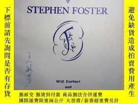 二手書博民逛書店ZCD罕見英文曲譜:SONGS of STEPHEN FOSTE