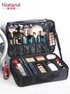 化妝箱NiceLand化妝包女便攜大容量專業化妝師跟妝收納包美甲紋繡工具箱新年禮物