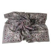 Christian Dior 華麗幾何雕花(大)絲巾(灰色) 179019