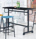 【新北大】✪ S699-5 HB33T工業風吧台桌5尺(不含吧椅)-18購