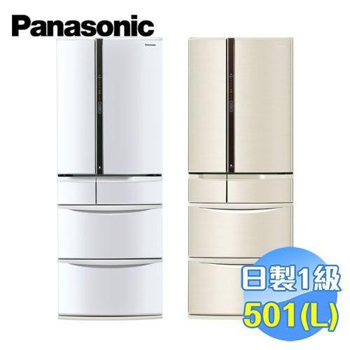 國際 Panasonic 日本原裝501公升無邊框六門變頻冰箱 NR-F502VT