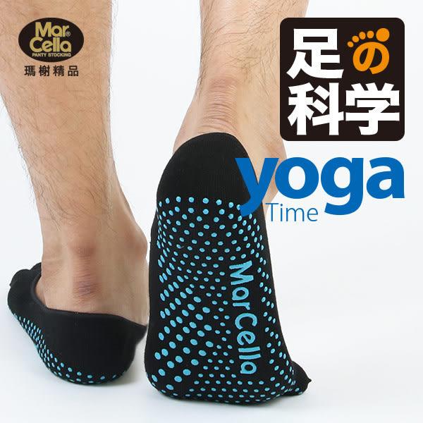 瑪榭足の科学。3D立體瑜珈止滑五趾隱形襪 - 男款