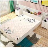 床墊椰棕床墊棕墊經濟型硬棕雙人席夢思棕櫚摺疊兒童床墊5公分厚 NMS