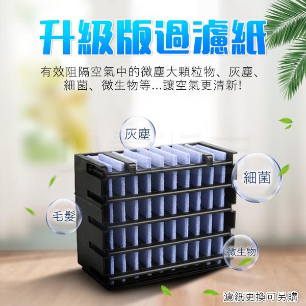 水冷扇 濾心 濾芯 移動式冷氣 電扇 電風扇 無葉風扇 空調風扇 水冷空調扇 USB迷你風扇 冷風扇