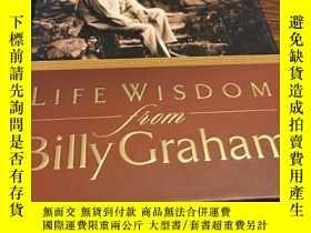 二手書博民逛書店Life罕見wisdom from billy grahamY429456 Billy graham Gift