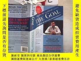 二手書博民逛書店The罕見Goal 目標(211)Y203004 Eliyahu Goldratt;Jeff Cox Nort