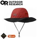 【Outdoor Research 美國 GORE-TEX 防水透氣大盤帽《深紅》】280135/防水圓盤帽/登山健行