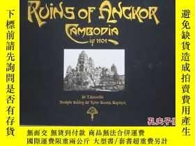 二手書博民逛書店Ruins罕見of Angkor: Cambodia in 19