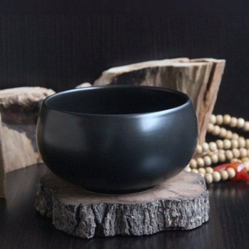 禪境抹茶碗-圓缽形-和敬清寂亮光白/日式抹茶/茶碗