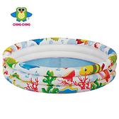 親親海洋世界三環水池(大) SPSW01-107【德芳保健藥妝】游泳池 戲水池