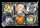 【拼圖總動員 PUZZLE STORY】霍爾的移動城堡 日系/Ensky/宮崎駿/208P/透明塑膠