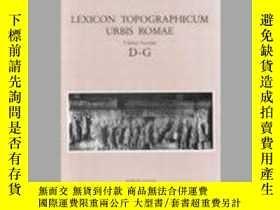 二手書博民逛書店Lexicon罕見Topographicum Urbis Romae: Volume Secondo: D-G-城