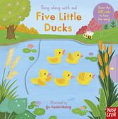 Sing Along With Me! Five Little Ducks 五隻小鴨唱歌游泳 童謠歌唱操作書(英國版)