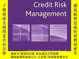 二手書博民逛書店Retail罕見Credit Risk Management (palgrave Macmillan Studie