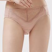 思薇爾-霓情舞漾系列M-XXL蕾絲中腰三角內褲(彩膚色)