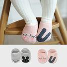 可愛卡通造型不對稱兒童船型襪子 止滑襪 防滑襪 童襪 短襪 船襪