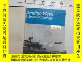 二手書博民逛書店aviation罕見week and space technol