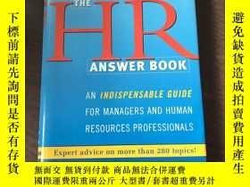 二手書博民逛書店THE罕見HR ANSWER BOOKY203750 看圖 看圖
