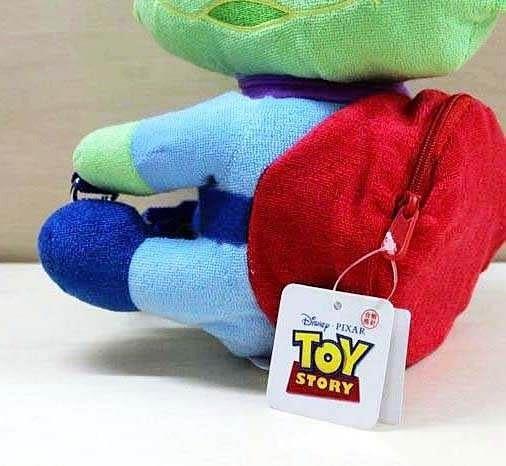 【發現。好貨】玩具總動員3 三眼怪側背包 斜肩包 抱抱腰包 兒童包包 錢包