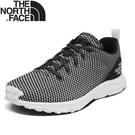 【The North Face 女 休閒鞋《麻灰/白》】3RQ9/運動鞋/緩震抓地/戶外鞋